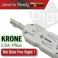 Tang KRONE LSA Plus Pinset Punch Down Sensor Reparasi Panel Terminal