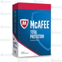 McAfee Total Protection 3 PC 1 Year Code