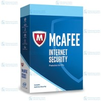 McAfee Internet Security 3 PC 1 Year Code