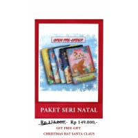 BUKU SERI NATAL 1 PAKET (FREE TOPI NATAL)