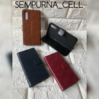 "Flip Cover Wallet VIVO S1 6.38"" Leather FlipCase Cover Kulit Dompet"