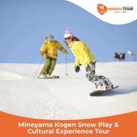 Tur Jepang 1 Hari Mineyama Kogen Snow Play&Cultural Experience- Dewasa