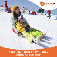 Tur Jepang 1 Hari Kobe Mt. Rokko Snow Park & Arima Onsen Tour - Dewasa