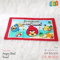 Handuk Anak Gambar Angry Bird SALE