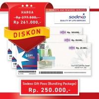 Bundling Package Nominal Rp25.000 Dengan Total Nilai Rp250.000