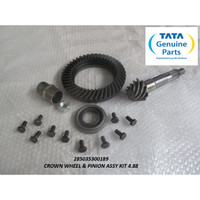 TATA MOTORS SUPER ACE CROWN WHEEL & PINION ASSY KIT 4.88 285035300189