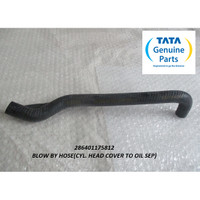 TATA SUPER ACE BLOW BY HOSE(CYL. HEAD COVER TO OIL SEP) 286401175812