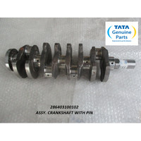 TATA MOTORS SUPER ACE ASSY. CRANKSHAFT WITH PIN 286403100102
