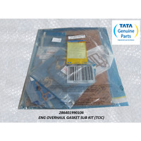 TATA MOTORS SUPER ACE ENG OVERHAUL GASKET SUB KIT (TCIC) 286401990106