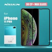 NILLKIN IPHONE 11 PRO 3D CP+MAX TEMPERED GLASS ANTI GORES KACA