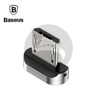 BASEUS CONVERTER ZINC MAGNETIC MICRO USB KEPALA KONEKTOR FAST CHARGING