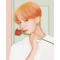 BTS DIY Paintings Jimin - Do it Yourself Lukisan BTS