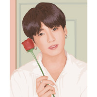 BTS DIY Paintings Jung Kook - Do it Yourself Lukisan BTS