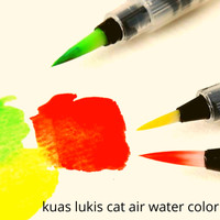 Kuas Cat Air Water Brush - Kuas Isi Ulang Air - Refillable