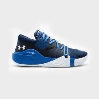 Basketball Footwear UA SPAWN LOW FOOTWEAR - BLUE