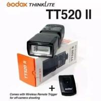 Flash Godox TT 520II + Trigger