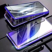 Double Glass case magnet SAMSUNG GALAXI A50s magnetic original A50s