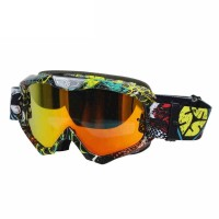 Kacamata Helm Cross Goggles Motorcross Motocross Scoyco G04 ( Red )