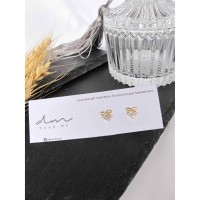 DearMe- HELEN Earrings(S925 with 14K Gold plating & Zicronium Crystal)