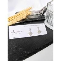 DearMe - YULE Earrings (925 Sterling Silver with Zicronium Crystal)