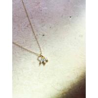 DearMe - OHANA Necklace(S925 & 14K Gold plating & Zirconium Crystal)