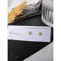 DearMe - CELESTA Earrings(S925 & 14K Gold plating & Zicronium Crystal)