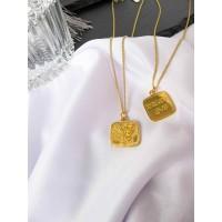 DearMe - ZANE Necklace(925 Sterling Silver with 18K Gold plating )