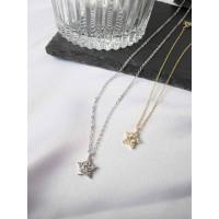 DearMe - MAGI Necklace(S925 & 14K Gold plating & Zirconium Crystal)