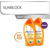 Marina UV White Sunblock SPF 30 [Paket Exclusive Tokopedia]