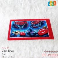 Handuk Anak Gambar Cars SALE