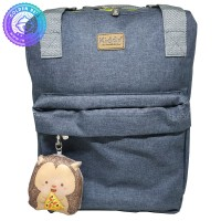 Tas Ransel Bayi / Backpack - Bahan Tebal dan Kuat Warna Gray