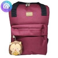 Tas Ransel Bayi / Backpack - Bahan Tebal dan Kuat Warna Maroon