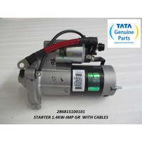 TATA MOTORS SUPER ACE STARTER 1.4KW-IMP GR WITH CABLES 286815100101