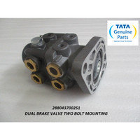 TATA MOTORS PRIMA 2528.K DUAL BRAKE VALVE TWO BOLT MOUNTING 2880437002