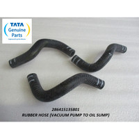TATA MOTORS SUPER ACE RUBBER HOSE (VACUUM PUMP TO OIL SUMP) 2864151358