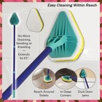 TERLARIS CLEAN REACH BRUSH 3 IN 1 ALAT PEMBERSIH SERBAGUNA RUMAH