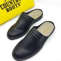 Sandal Sandal Sepatu Terbaru Kickers Galf Kulit Casual Pria Jaket