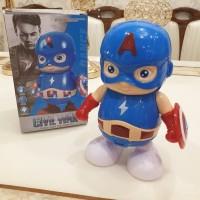 Captain America Super Hero Dance Robot
