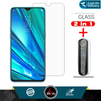 Aladoy Tempered Glass Layar Clear dan Lens Camera Realme 5 ( 6.5inch )