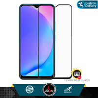Aladoy Tempered Glass Vivo Y15 Screen Protector Full Cover Premium