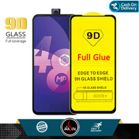 Aladoy Tempered Glass Oppo F11 Pro Screen Protector Full Cover Premium