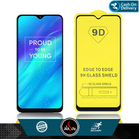 Aladoy Tempered Glass Realme 3 Screen Protector Full Cover Premium