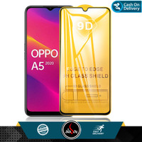 Aladoy Tempered Glass Oppo A5 2020 Screen Protector Full Cover Premium