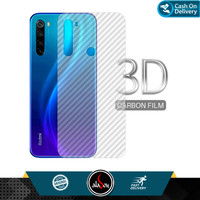 Garskin Carbon Xiaomi Redmi Note 8 Back Screen Protector Skin