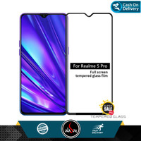 Aladoy Tempered Glass Realme 5 Pro 2O19 Screen Protector Full Cover