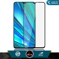 Aladoy Tempered Glass Realme 5 (6.5 inch) Screen Protector Full Cover