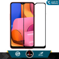 Aladoy Tempered Glass Samsung A20s Screen Protector Full Cover Premium