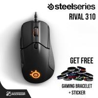 Steelseries Rival 310 - Original Garansi Resmi - Mouse Gaming