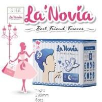 La'Novia Night Pembalut isi 8pcs