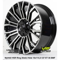 Velg Mobil Murah MYTH02 Ring 20 Hole Buat Wuling Almaz ALTIS dLL